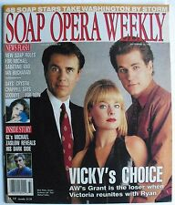MARK PINTER JENSEN BUCHANAN PAUL MICHAEL VALLEY Sept 14, 1993 SOAP OPERA WEEKLY