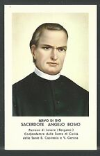 Estampa del Siervo Angelo santino holy card image piuse