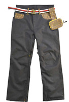Brand New Technine Nines Denim Snowboard Pants Black Size - M, L, or XL