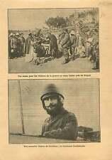 Military chaplain Italo-Turkish War Tripoli /Pilote Lantheaume 1912 ILLUSTRATION