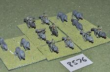15 mm Fantasy Orcos & Lobos 14 figuras (8576) De Metal Pintado