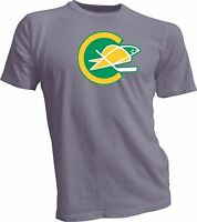 CALIFORNIA GOLDEN SEALS DEFUNCT NHL HOCKEY VINTAGE STYLE Gray T-SHIRT NEW