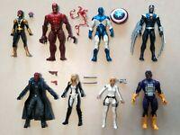 Hasbro Marvel legends  8 action figure lot