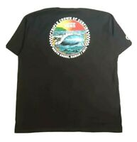 Vans North Shore Hawaii 2019 Triple Crown Of Surfing Graphic T Shirt Men's 2XL