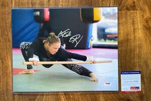 Rhonda Rousey Signed Autograph 11x14 Photo PSA Certified MMA WWE