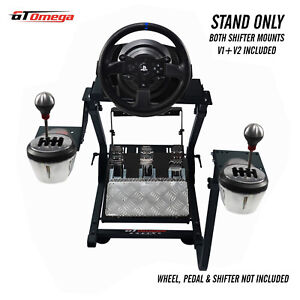 GT Omega Steering Wheel stand PRO for Thrustmaster T300RS & TH8A shifter V2