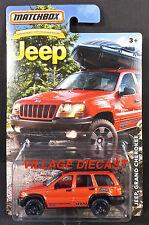 2016 Matchbox Jeep® Anniversary Edition Jeep® Grand Cherokee IMPACT ORANGE/MOC