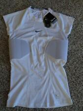 NEW Mens NIKE PRO HYPERSTRONG White PADDED FITTED FOOTBALL SHIRT    Size 2XL-XXL