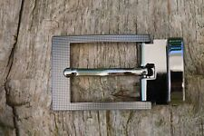 """Replacement Metal Belt Buckle TO FIT 30mm 1 3/16"""" BELT classic Clip On Buckle AC"""