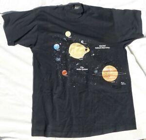 The Solar System Kitt Peak National Observatory Men's XL T-Shirt Made in USA