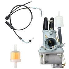 Carbu Carburateur + Câble Accélérateur Pr Yamaha PW80 PW Carb Y-Zinger 1985-2006