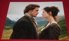 HEUGHAN & BALFE SIGNED OUTLANDER LOVERS STARE STILL 8X10 PHOTO AUTOGRAPH COA