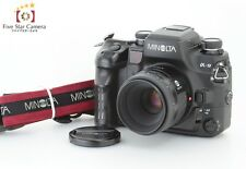 Hervorragende!!! Minolta Alpha 9/Maxxum 9/Dynax 9 mit AF Macro 50mm f/3.5 NEU
