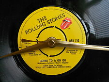 """THE ROLLING STONES-GOING TO A GOGO 7""""single recycled vinyl record clock"""