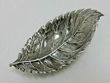 "Buccellati Sterling Silver 925 Rose Leaf  Dish 5.25"" Gianmaria Buccellati"