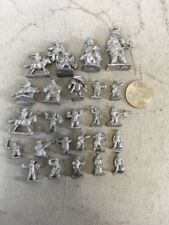 Lot Of 25 D&D Dungeon & Dragons Vintage Metal Pewter Miniatures Ral Partha Lot10