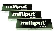 3 Packs Black Milliput Epoxy Putty Modelling Sculpt Ceramics Slate Repair X1019b
