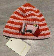 RRP £26 * CATIMINI * Girls Baby Designer Hat * Age 6-12m * T1 * Pink