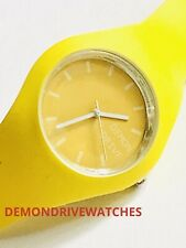 NEW DEMON DRIVE WATCH ALL SUNSET YELLOW ICE SILICON *** RRP£25 GENTS LADIES UK