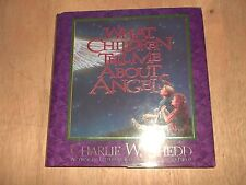 Charlie W Shedd What Children Tell Me About Angels Autograph Book