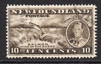 Newfoundland 10 Cent Stamp c1937 Used (5125)