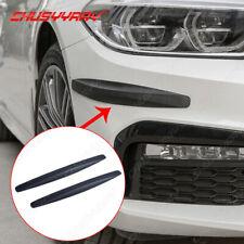 2x Front Rear Car Accessories Bumper Corner Protector Guard Cover Anti Scratch