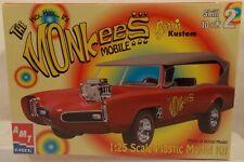 The Monkees Mobile Car1:25 Scale TV MonkeeMobile Plastic Model Kit AMT Ertl MISB