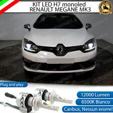 KIT MONO LED MONOLED H7 6500K CANBUS 12000 LUMEN LED XHP50 RENAULT MEGANE MK3