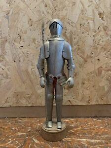 Antique Vintage Suit Of Armour Costume Knight Figure