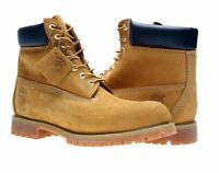 Timberland 6-Inch Premium Waterproof Wheat Nubuck Men's Boots 10061