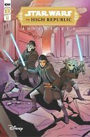STAR WARS THE HIGH REPUBLIC ADVENTURES IDW #3 COVER 1:10 VAR PRESELL 4/7/21