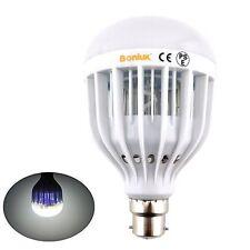Bonlux 10W B22 UV LED Bug Zapper Light Bulb Cool White 6000K BC Bayonet Cap LED