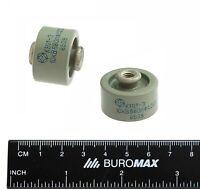 2 pcs 680pF 10kV KVI-3 Doorknob Capacitor Ceramic High Voltage USSR NOS