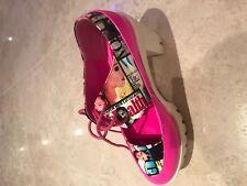 Unique pink shoes