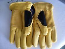 gold leaf winter touch ladies gloves
