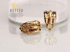 earrings Clip on Pliers Golden Half Ring Finger Metal Class J8