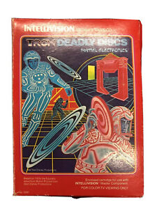 Intellivision Tron Deady Discs - Boxed Complete