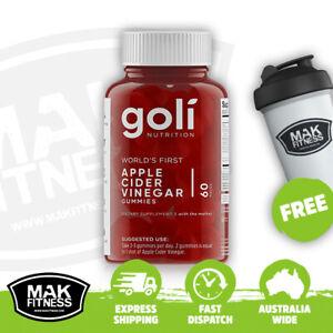 Goli Nutrition Apple Cider Vinegar Gummies | FREE Shaker & Shipping