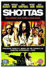 Shottas (DVD) NEW AND SEALED UK REGION 2 ISSUE Kymani Marley Spragga Benz