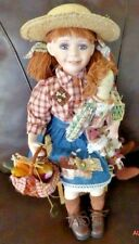 Wimbledon Collection Gustave Wolff Porcelain Doll ANNIE Rare HTF