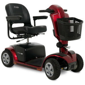 Victory 10 4 Wheel Power Mobility Scooter by Pride Mobility