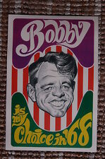 Bobby Kennedy For President campaign poster 1968