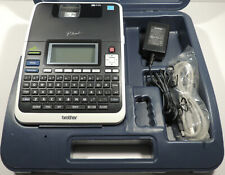 Brother Pt 2730 Thermal Barcode Label Maker Printer Portable Pc Connectable