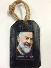 Padre Pio Religious Picture Pendant (RP03) - Island Turf Crafts