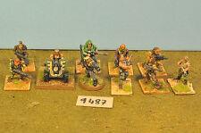 Mezclado Guardia Imperial 10 y arma de metal pesado (9487)