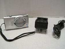 Canon PowerShot ELPH 340 HS 16.0MP Digital Camera - Silver +16GB