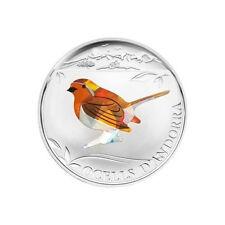 2012 Andorra Large Color Prism Proof 1D- Robin Bird