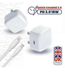 100% Genuine CE Charger PD plug cable For iPhone 12 11 Pro Max Mini XR X XS MAX