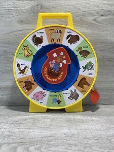 "Classic Mattel ""The Farmer Says"" See n Say Farm Animal 2013 W/ PULL STRING"