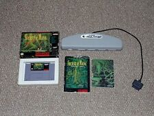Secret of Mana Super Nintendo SNES Complete with Hudson 5-Player Adapter